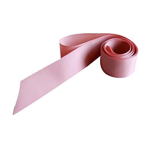 LUFA Einfache klassische bunte Band-Schärpe für Kleid-formales Hochzeits-Kleid nackt rosa
