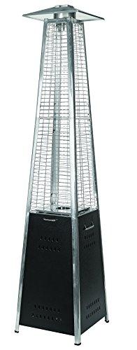 LG Outdoor dan04Dante Pyramid Flame Terrassenstrahler–Grau;