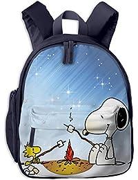 CCVVG1 Snoopy Bolsa de Libro con impresión para niños