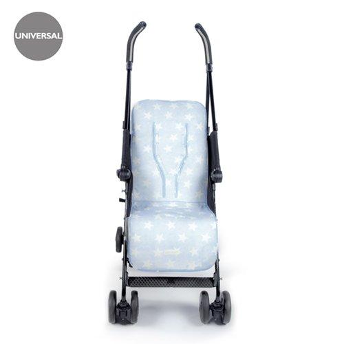 Pasito a Pasito Elodie - Colchoneta silla universal, color azul