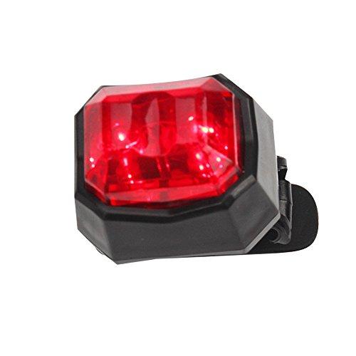 Neueste!!! LED Fahrradbeleuchtung Fahrradlicht 3 Modi,TriLance LED Fahrrad Rücklicht Fahrrad Sicherheit Radfahren Warnlampe Fahrradlichter Fahrradlampe Lampe Sicherheit Radfahren Night Riding (C)