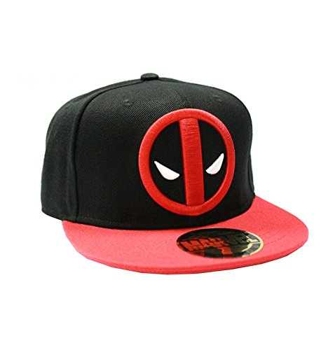 marvel-casquette-snapback-marvel-deadpool-legend-icon-gorra-unisex-adulto