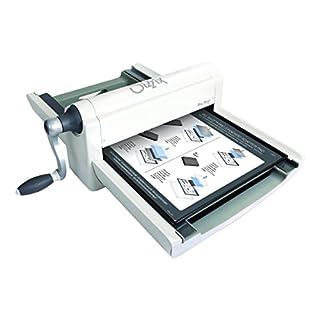 Sizzix Big Shot Pro Machine mit Standard Zubehör, Weiß/Grau