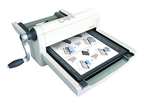 Sizzix Big Shot Pro, máquina de corte y repujado manual con accesorios estándar y punzón para troqueles, tamaño A3 (33 cm)