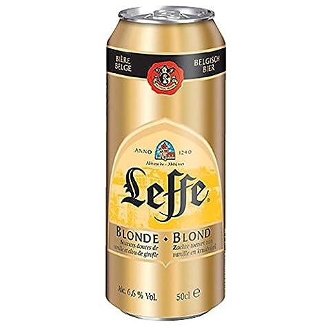 Leffe blonde boite 6.6° 50 cl - 6 x 50 cl