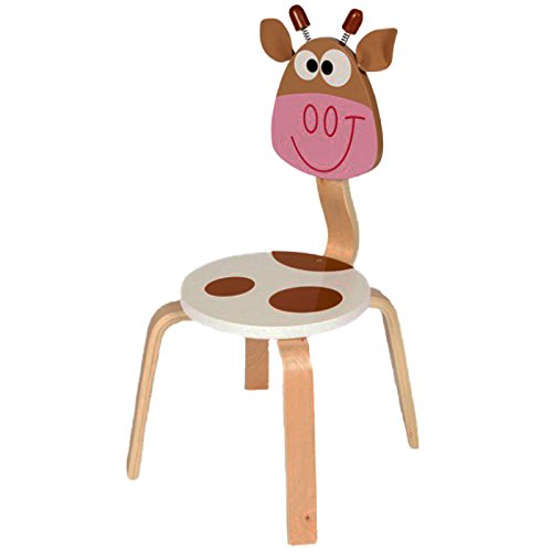Scratch 6182303 - Stuhl Kuh Marie, 33 x 33 x 65 cm - Kuh-stuhl