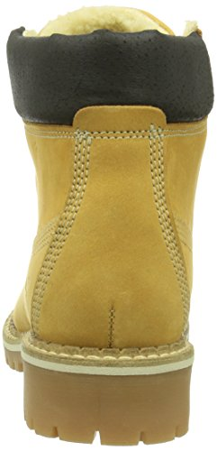 Mustang 2837601, Boots femme Jaune (66 Camel)