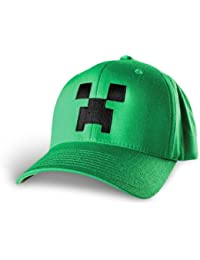 Minecraft Creeper Flexifit Hat (S/M)