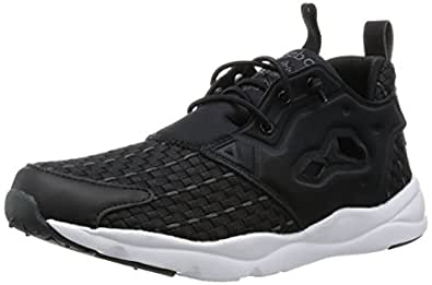 Reebok Furylite New Woven chaussures, black/solid grey/white, 35,0