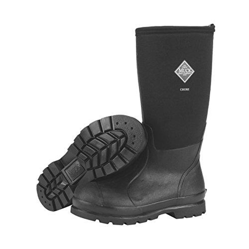 Muck Boots Unisex-Erwachsene Chore High Gummistiefel, Black, 8 UK