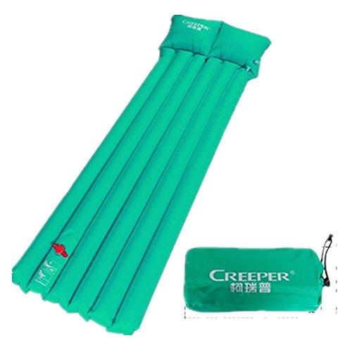 WTUS Camping Isomatte Kleines Packmaß - Ultraleichte Isomatte - Aufblasbare Luftmatratze - Schlafmatte für Camping, Reise, Outdoor, Wandern, Strand