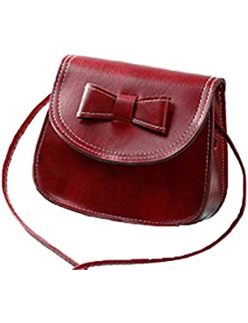 Kleine Schultertaschen PU-Leder-Seitentasche Kreuz-Körper für Frauen