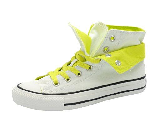 Converse Chucks - CT TWO FOLD HI 542590C - White-Citron White/Citronelle