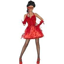 De Halloween Costume Red Devil Del Ballo in Maschera - Horror Sexy - Señoras pequeña