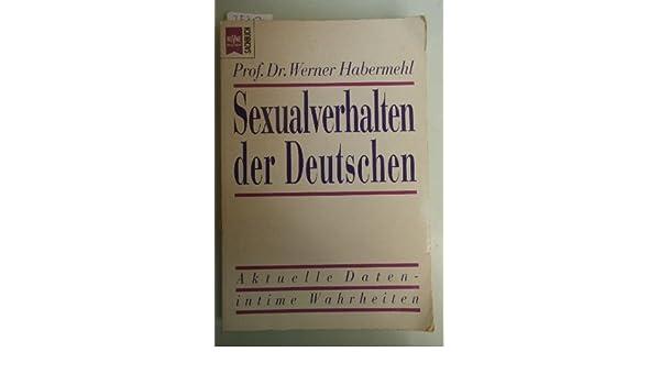 Sexualverhalten der deutschen