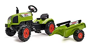 Falke Tractor Claas Arion + Remolque, 2041C