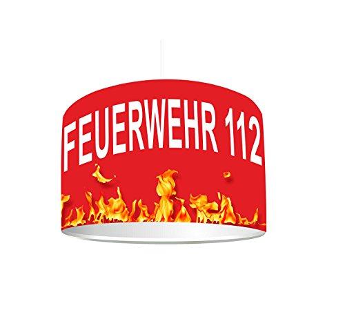 feuerwehrlampe Kinderzimmer Lampenschirm