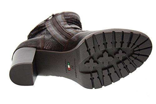 Scarpe Marrone Donna Col Stivali A719936d Nero Da 300 Giardini Tacco 57Szg1qg
