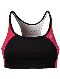 New Balance sb2151vpl support crop parte de arriba/pink,medium negro para mujer