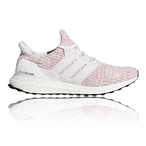 adidas Ultraboost, Chaussures de Running Homme Blanc (Ftwwht/ftwwht/scarle)