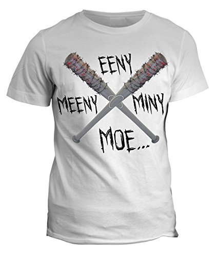 Tshirt Negan CONTA EENY MEENY MINY LUCILLE - serie tv the walking dead - in cotone by Fashwork