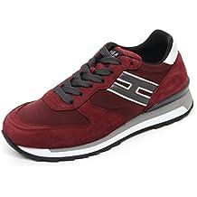 Hogan B7269 Sneaker Uomo Rebel R261 Scarpa Bordeaux Shoe Man 6e3938b3cb7