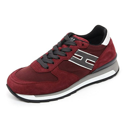 Hogan B7269 Sneaker Uomo Rebel R261 Escarpins Bordeaux Homme Bordeaux