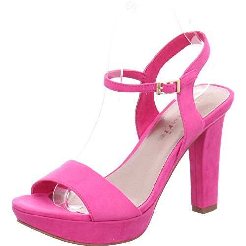 Tamaris Sandaletten 1-28398-20 Plateau Sandalen High Heel, Schuhgröße:38;Farbe:Pink