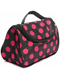 EasyBuy India Zebra Stripe Portable Makeup Cosmetic Case Storage Travel Bag - B07762NL69