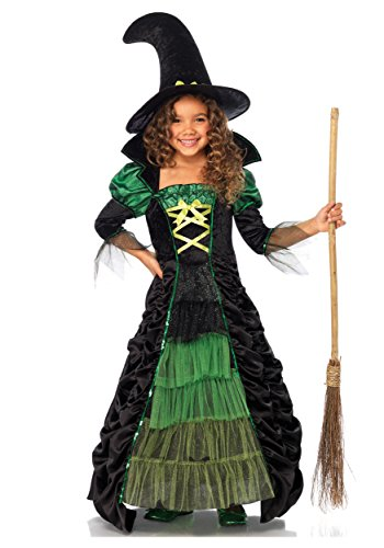 Witch Kostüm Storybook - Leg Avenue Storybook Witch Child Fancy Dress Costume X-Small