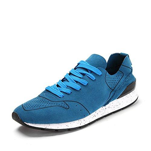 Primavera maglia traspirante scarpa/Con sport outdoor e tempo libero scarpe Blu