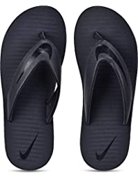 e5132b18a Nike Men s Thunder Blue Blackened Blue Chroma Thong 5 Flip Flops  N833808-410 (