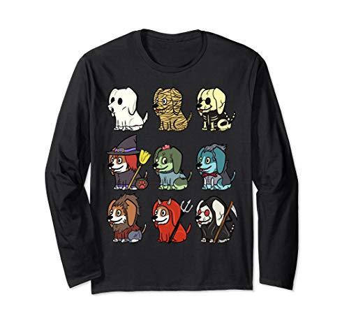 Kostüm Beagle Lustige - Beagle Gruselige Kostüme Lustiger Hund Halloween Geschenk  Langarmshirt