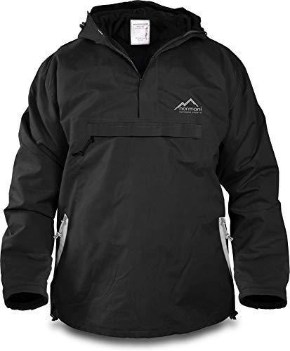 normani Winddichte Funktions-Jacke für Damen und Herren von S-4XL Farbe Black/Beige Größe XXL