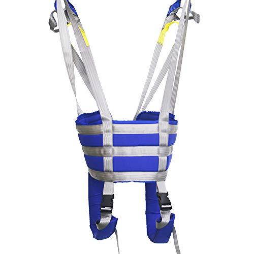 41EvOThz7rL - ZIHAOH Cabestrillo De Elevación De Paciente De Cuerpo Completo, Cinturón De Transferencia Médica De Elevación para Personas Mayores Discapacitados, Cinturón para Caminar Asistido por El Paciente