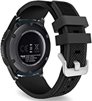 Sport Silicone Band for Samsung Galaxy Watch 3 45mm/Gear S3 Frontier/Classic/Galaxy Watch 46mm/Huawei Watch GT