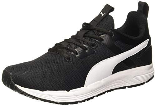 Puma Men's Progression Duo Idp Black White Running Shoes-8 UK (42 EU) (9 US) (19336102_8)