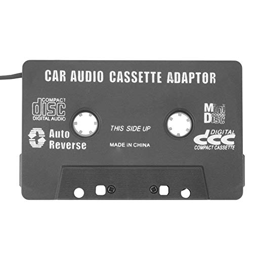 JoyFan Auto-Kassetten Adapter Kassetten Deck 3,5 mm Klinke Audio Tape Kassette Adapter für iPod iPhone Smartphones (Tape Deck Auto-adapter)