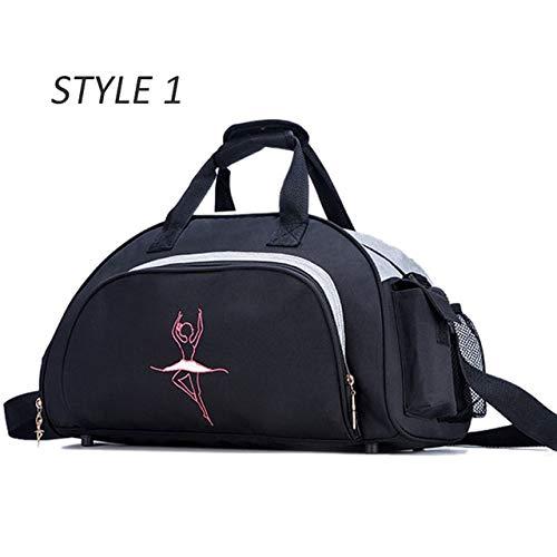 d75ebde83f65 Miles Sail Dance Girl Gym Bag Women Yoga Mat Bags for Fitness Training  Sports Handbag Shoulder Tas Dancing Gymtas Sporttas tas 2019 XA769WA,Style  1 ...