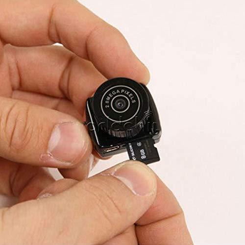 EisEyen Mini Kamera Tragbare Kleine Überwachungskamera Compact Sicherheit Kamera SD Karte Minikamera Ladekabel für Innen und Aussen USB 2.0 (Speicherkarte Mini)