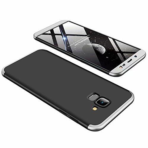 Funda Samsung Galaxy J6 2018 Ttimao PC Hard Case [Película de Cristal...