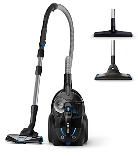Philips fc9741/09 Power Pro Expert - Aspiradora sin bolsa, 2 L, 650 W, color negro