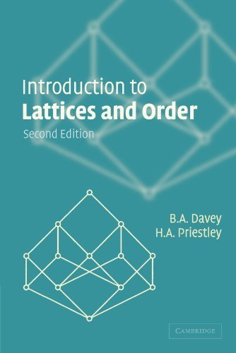 Introduction to Lattices and Order 2nd edition by Davey, B. A., Priestley, H. A. (2002) Paperback