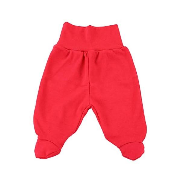 TupTam Pantalón con Pies de Bebé Paquete de 5 pies 2