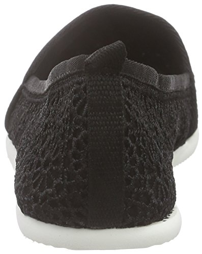 Tamaris 24618 Damen Slipper Schwarz (BLACK MACRAMEE 013)