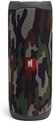 JBL JBLFLIP5SQUAD Flip 5 Portable Waterproof Bluetooth Speaker with Hybrid Carrying Case (Squad)