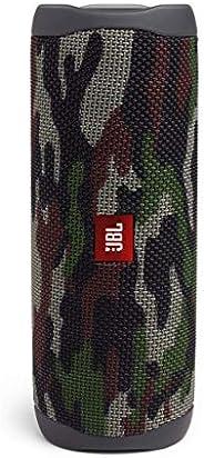 مكبر صوت جي بي ال فليب 5 الذي يعمل بالبلوتوث ومقاوم للماء متعدد الأغراض محمول مقاوم للماء مع حقيبة حمل