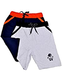 Ezee Sleeves Men's Cotton Boxer Shorts - Combo Pack of 2