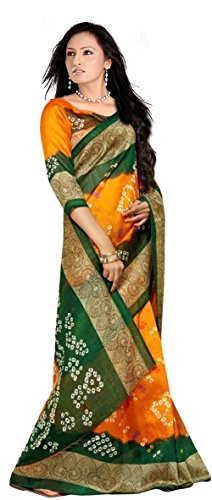 Kanchan Silk Saree (Ktbandhani 02_Multi-Coloured)