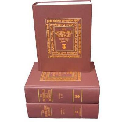 [THE ANCHOR BIBLE DICTIONARY 6-VOLUME PREPACK: (CONTAINS ONE COPY OF EACH VOLUME) (ANCHOR YALE BIBLE DICTIONARY) ]by(Freedman, David Noel )[Hardcover]